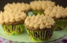 Marijuana Recipes - Banana Caramel Cupcakes with Dulce de Leche Icing