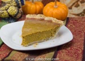 Marijuana Recipes - Pumpkin Pie