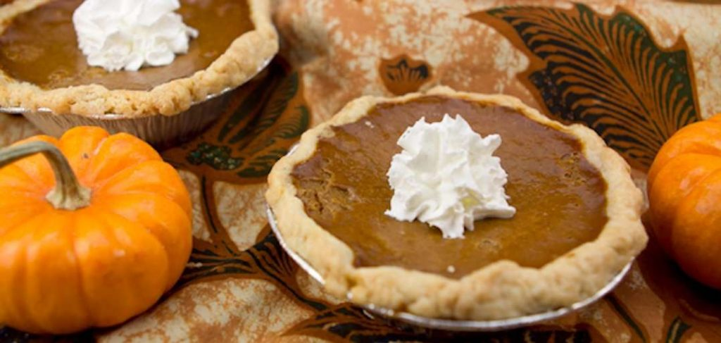 Marijuana Recipes - Mini Medicated Marijuana Pumpkin Pie