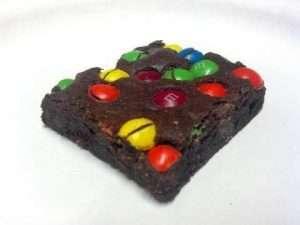 Trikom treats M&M Marijuana Brownie