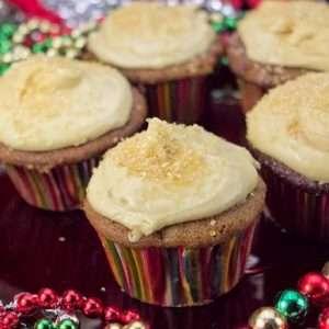 Marijuana recipes -- Gingerbread Cupcakes