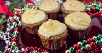 Marijuana recipes -- Gingerbread Cupcakes