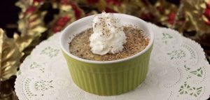 Eggnog Custard - Marijuana Recipes