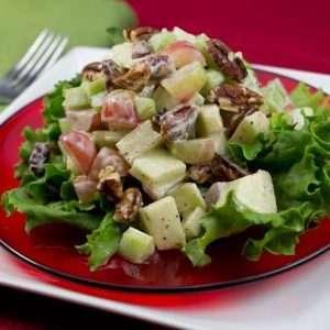 Marijuana Recipes - Enlightened Waldorf Salad