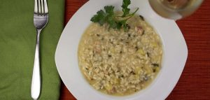 Cannabis Infused Apple Parmesan Risotto Recipe