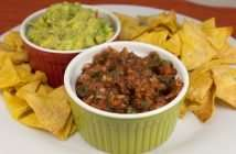 Marijuana Salsa with Baked Marijuana Tortilla Chips