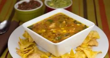 Marijuana Infused Tortilla Soup