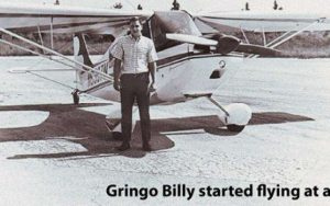 Life for Pot Prisoner Billy Dekle as a young pilot.