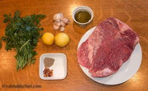 Grilled Flank Steak with Cheeba Chimichurri Sauce: Marijuana Recipes