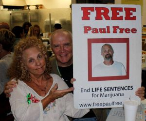 Justice Denied: Paul Free's supporters want to see him set free.
