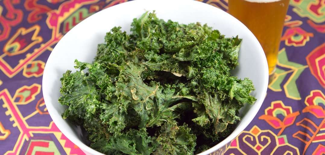 Marijuana Recipes - Medicated Kale Chips