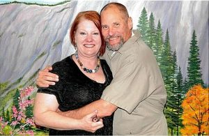 Paul Free, serving Life for Pot,  with friend and advocate Cheri Sicard.