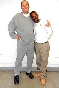 Corvain Cooper with fellow Life for Pot prisoner Paul Free at Atwater USP
