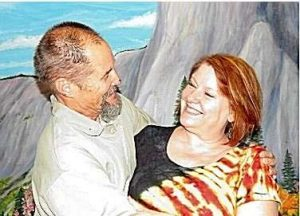 Life for Pot prisoner Paul Free with friend and advocate Cheri Sicard at Atwater USP, June 2015.