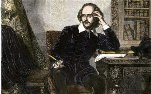 Evidence suggests that Shakespeare wrote high.