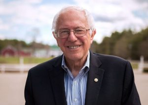 Presidential Candidate Bernie Sanders says he would support marijuana legalization.
