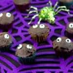 Halloween Marijuana Recipes - Eyes in the Dark Mini-Cupcakes