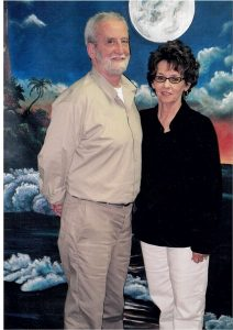 James Tranmer, pictured with wife Judith Kay, is serving de-facto life for pot.