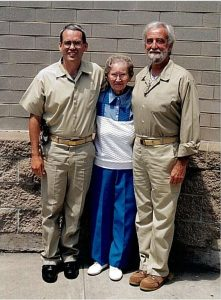 Marijuana Prisoners: L to R Brian Tranmer, his maternal Grandmother, and his father James Tranmer