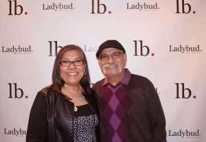 Madeline Martinez, owner of Portland, Oregon's World Famous Cannabis Cafe, with husband Rafael.