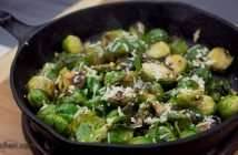 Marijuana Recipes - Parmesan Lemon Haze Roasted Brussels Sprouts