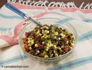 Marijuana Recipes - Corn and Black Bean Salad