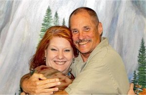 Cheri Sicard with marijuana prisoner Paul Free, serving Life Without Parole for Marijuana.