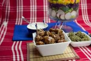 Marijuana Recipes - Sweet and Spicy Mota Meatballs