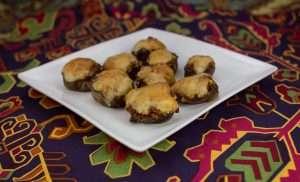 Marijuana Recipes -- Sausage and Sativa Stuffed Mushrooms