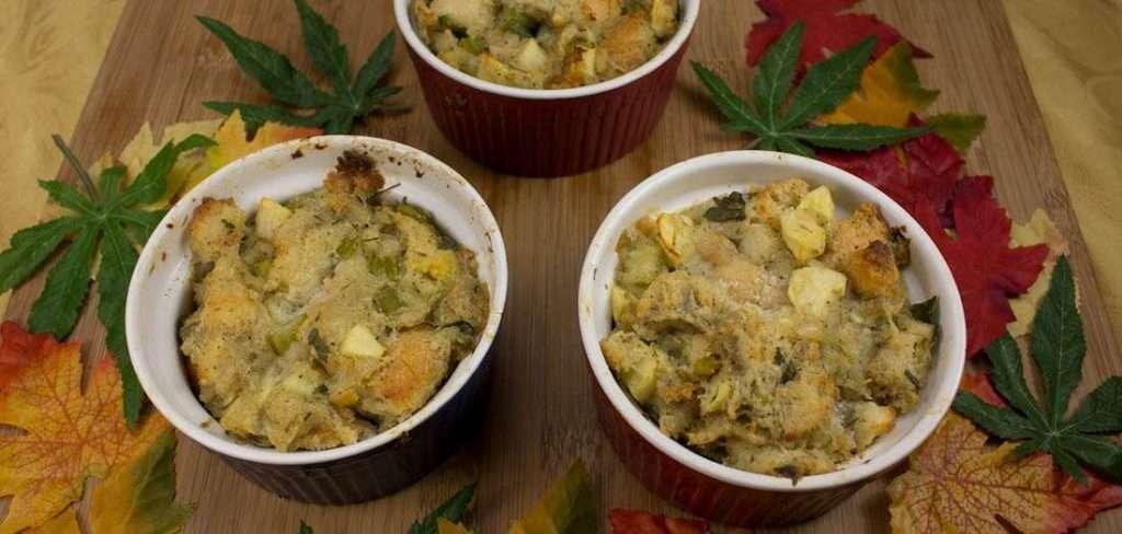 Marijuana recipes -- HERBed Apple Dressing or Stuffing