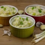 Marijuana Mashed Potatoes with Roasted Garlic, Sour Cream and Chives
