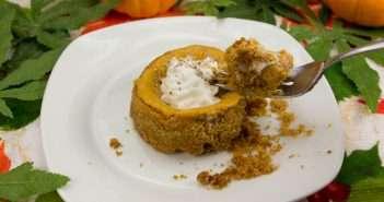 Marijuana Pumpkin Cheesecake