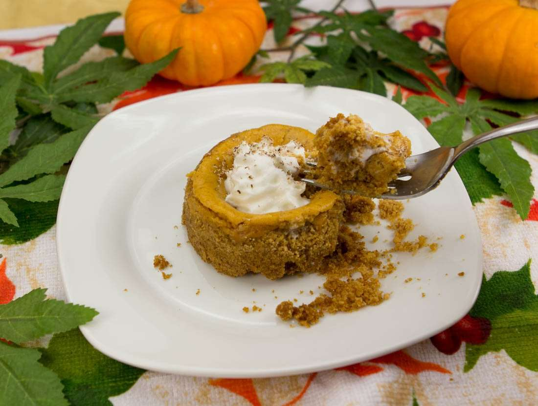 Marijuana Pumpkin Cheesecake