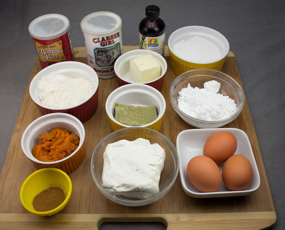 Marijuana Pumpkin Recipes - Ingredients for Pumpkin Roll Cake
