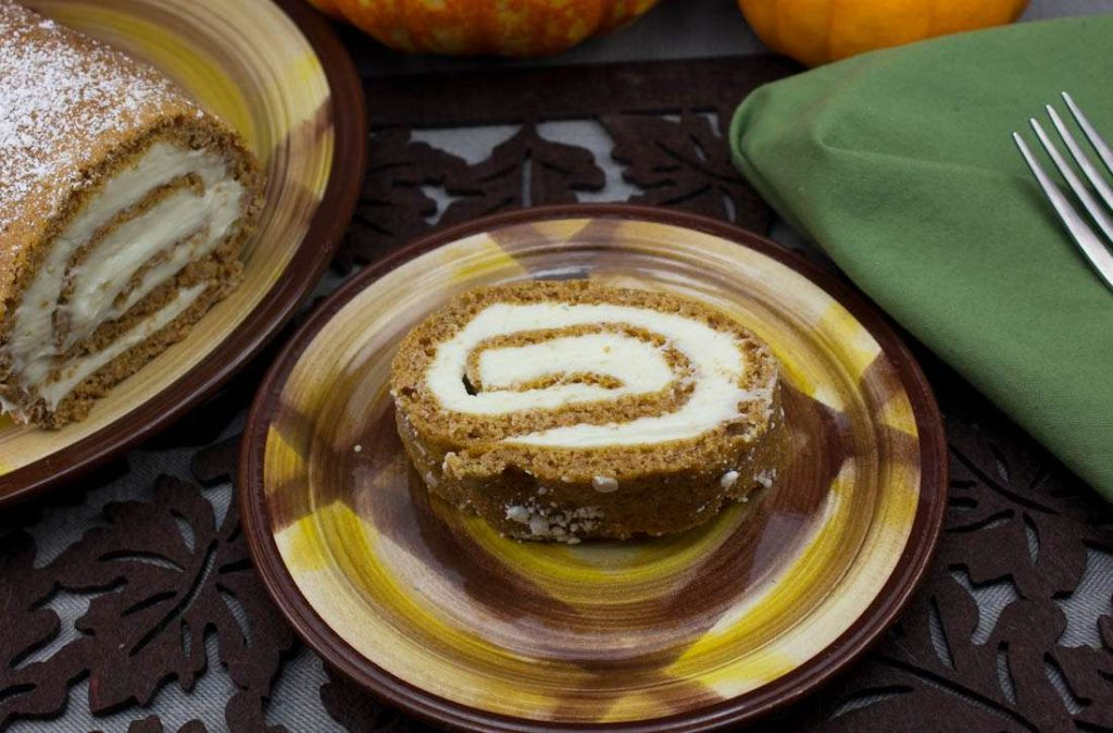 Marijuana Pumpkin Recipes - Pumpkin Roll Cake