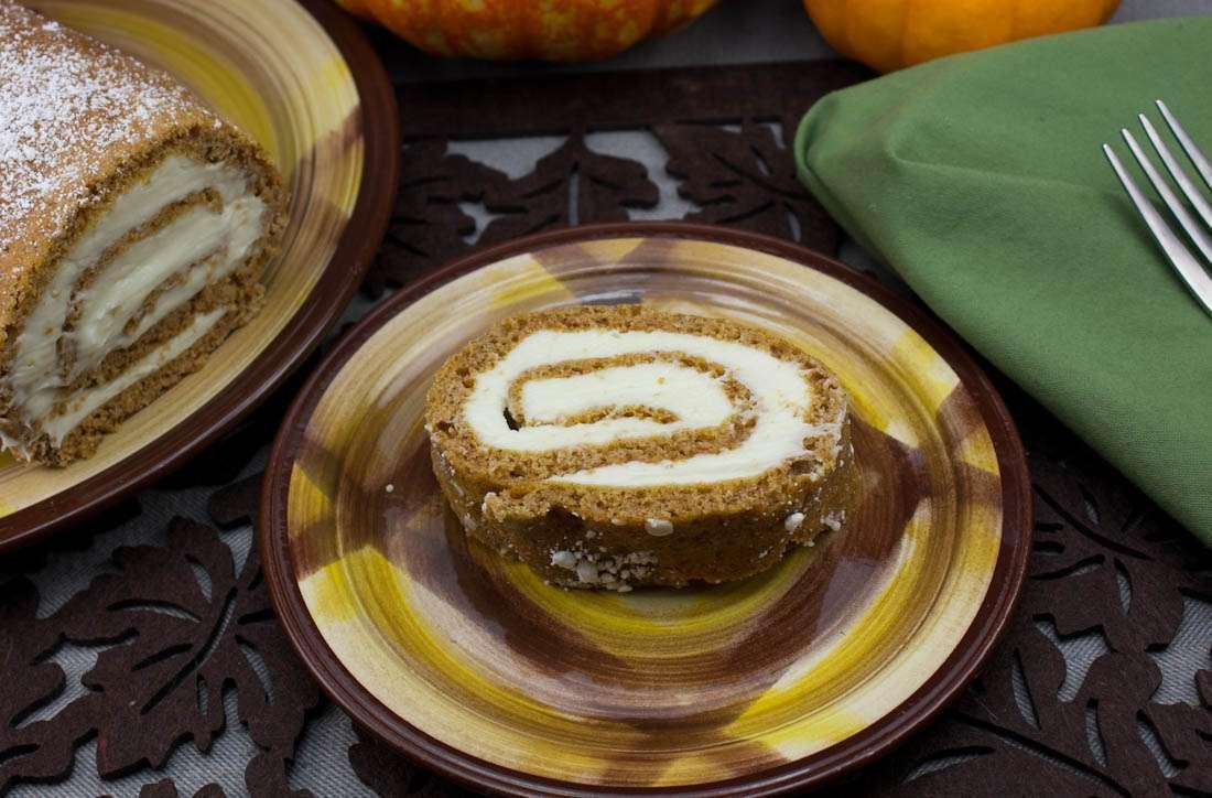 Marijuana Pumpkin Recipes - Pumpkin Roll Cake
