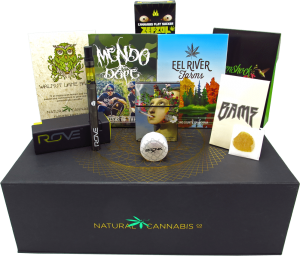cannabis gift picks, high society gift box