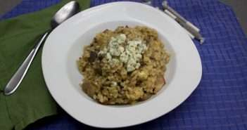 Marijuana Recipes, Blue Cheese Mushroom Risotto