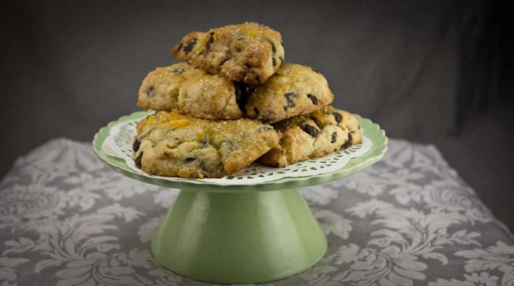 Marijuana Recipes - OG Orange Chocolate Chip Scones
