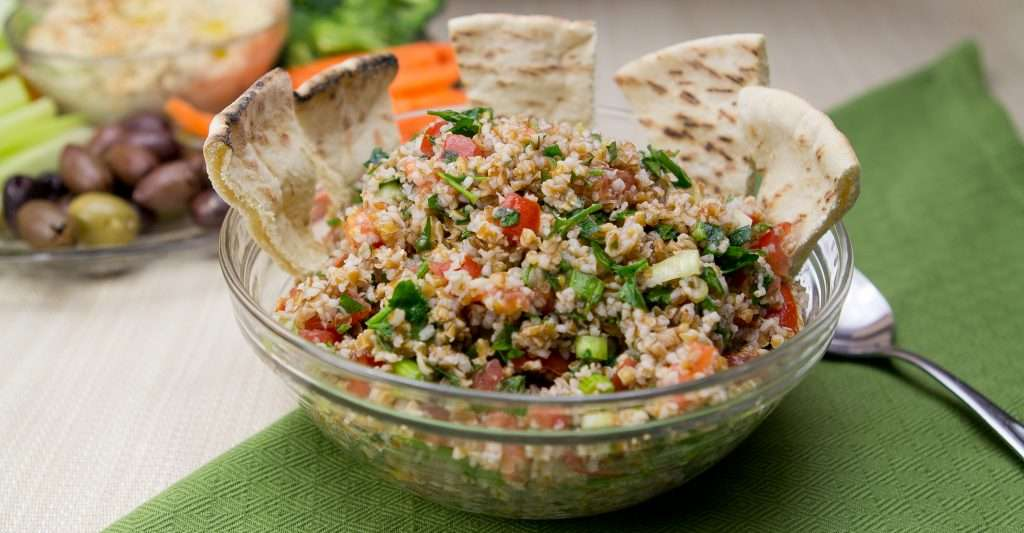 Marijuana Recipes - Tabouli with Mary Jane