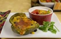 marijuana recipes - tamale stuffed peppers