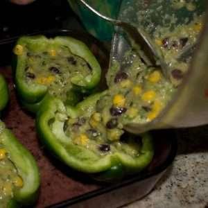 tamale stuffed peppers