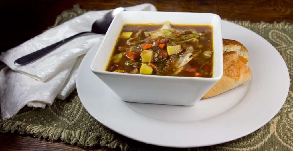 Marijuana Soup: Vegan Winter Vegetable Soup