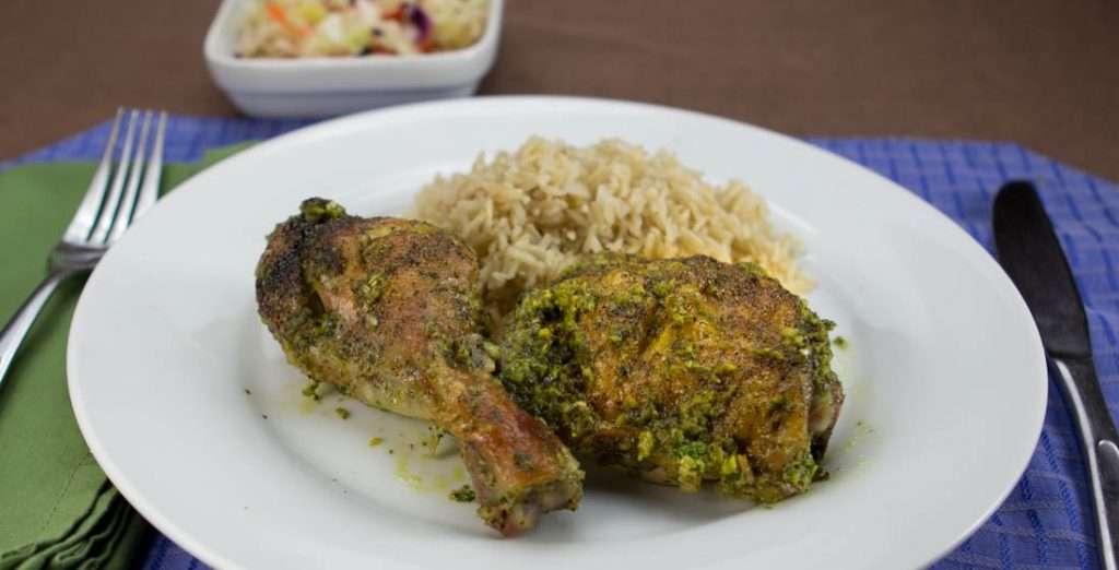 Chicken Marijuana Recipes - Chicken in Green Sauce