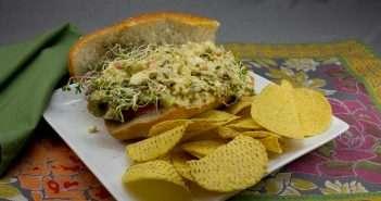 Marijuana Recipes - OG Egg and Olive Marijuana Sandwich