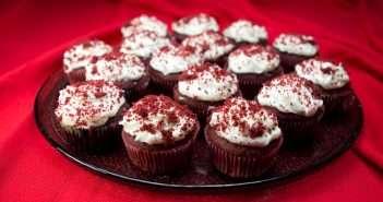 Marijuana Cupcakes - Red Velvet Cupcakes