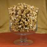 marijuana snack recipes - salted caramel popcorn