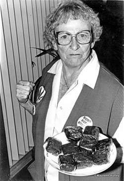 "Cannabis activist Mary Jane ""Brownie Mary"" Rathbun"