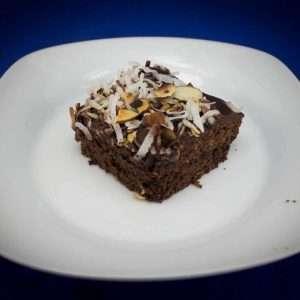 Almond and Coconut Marijuana Brownies