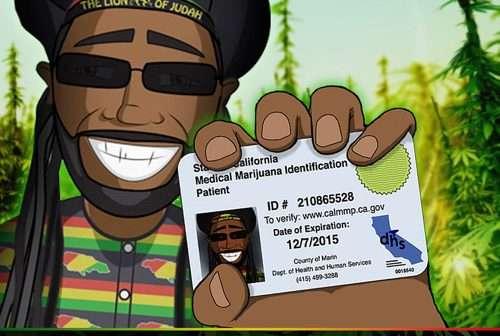 Marijuana Music: Medical Marijuana Card by Macka B